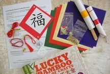 Crafts for Kids / Lucky Bamboo Crafts is offering Chinese culture craft kits complete with materials! Here are some cool ideas and examples of kits