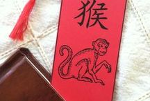 Year of the Monkey / The Chinese Lunar New Year animal for 2016 is the monkey. This will be a fun theme for crafts, gifts and decorations!