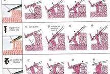 techniky a symboly háčkování