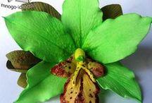 Фоамиран /  цветы из фоамирана