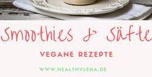 Smoothie + Detox Rezepte || vegan, einfach & gesund / Gesund von innen: Diese schnellen Smoothie und Detox Rezepte gelingen garantiert jedem! Sie sind im Nu gemacht, absolut köstlich und eignen sich sowohl für das perfekte Frühstück als auch einen schnellen Snack zwischendurch.