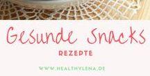 Gesunde Snacks || vegane Rezepte / Du möchtest gesund snacken und weißt nicht wie? Diese Snackrezepte schmecken unglaublich lecker, sind schnell gemacht und sogar auch noch gut für dich!