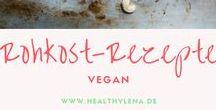 Vegane Rohkostrezepte / Rohkost ist langweilig? Ganz und gar nicht! Diese leckeren veganen Rohkostrezepte beweisen das Gegenteil. Überzeuge dich einfach selbst und probiere diese rohen Köstlichkeiten!