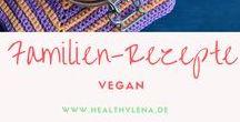Vegane Rezepte für die Familie / Hier findest du vegane Rezepte für die ganze Familie - perfekt für Kids - Rezepte für die Kleinen - das schmeckt auch Kindern