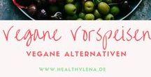 Vegane Vorspeisen / Vegane Vorspeisen für dein Menü. Das kommt garantiert gut an!  Snacks & Häppchen - perfekt für die Party
