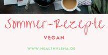 Vegane Rezepte für den Sommer - farbenfroh & lecker / Hier findest du farbenfrohe Sommergerichte & vegane Rezepte für den Sommer. Leichte Sommerrezepte, die schmecken!