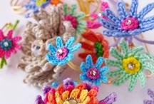 Crochet flower - Virka blommor