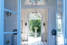 Make an Entrance and more ... / a view of elegant hallways, galleries, and staircases / by Jane Ellsworth Interiors
