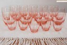 Cristaleria rosada / Consultame a decodecori@gmail.com
