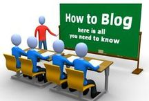 Blogging / we train people for creating there own blog using blogger which will give them platform to express there views on world wide web we also create create and maintain company's or personal blog