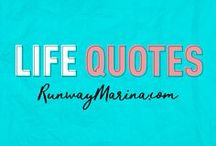 Life Quotes / Here you can find my favorite life quotes as inspiration, guides, and mood booster to light up your day! Board of Pins about Life Quotes. Life | Quotes | Inspiration | Famous | Saying | Words | Alive | Living | Daily