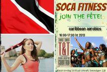 Soca Fitness / A caribbean workout program in Stockholm, Sweden. Join the fête!