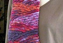 Crochet, Stitches, Knit Stitch Versions / crochet, El ganchillo, croché (galicismo de crochet) o tejido de gancho, haken, croche / by All Things String