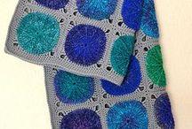 Afghan, Baby Blanket, Lap Rug, Throw, Afghan Design Ideas / crochet, El ganchillo, croché (galicismo de crochet) o tejido de gancho, haken, croche or knit blankets, afghans, lap rugs / by All Things String