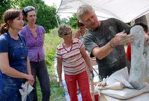 Workshops Jan van der Laan / Beeldhouwworkshops en -retraites by Jan van der Laan.  Kijk op www.janvanderlaan.eu/workshops voor een overzicht van de eerstvolgende workshops/retraites