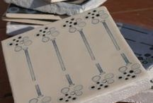 Cool Chic Ceramics / I like to dibble dabble in Ceramics especially tiles! here are a  few favourites!
