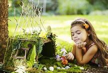 Kids in the Garden / So many ways to incorporate the little ones in the Garden