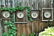 DIY Backyard / Creating the little personal touches around your yard