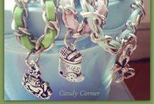 Candy Corner Handmade Bijoux / All bijoux are handmade by Candycorner...online shop! https://www.facebook.com/candycornerbj