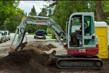 Salisbury Landscaping Hard at Work / On the job photographs