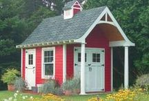 Outdoor Sheds / Different Styles and Ideas