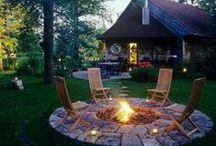 Fire Pit Areas / Ideas for your backyard