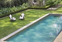 Pool Landscaping / The spaces around your outdoor pools