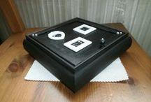 Mes créations de boites, présentoirs ... à bijoux / Mes boite à bijoux décorées avec du décopatch, peinture, Fimo .....  Suivez moi sur facebook : https://www.facebook.com/Dotie.creations/