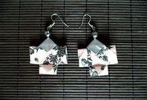 Mes créations en origami / Bijoux, déco ... avec des petits papiers !  Suivez moi sur facebook : https://www.facebook.com/Dotie.creations/