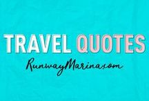 Travel Quotes / Here you can find list of travel quotes that can inspired and boost your mood. Board of Pins about Travel Quotes. Travel | Quotes | Inspiration | Famous | Saying | Words