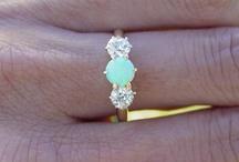 Opalescence / next to garnet, i love opals