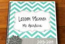 School (Teaching) / Lesson Plans, Binders, Resources