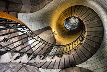 Climb It / sweeping & spiral stairs i would love to climb over & over because they are beautiful; and simple ones too with lots of charm and character