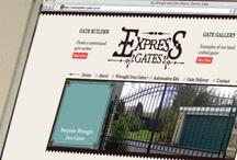 Express Gates Website / by Kieran Harrod