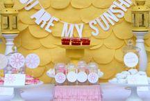 Baby & Bridal Shower Ideas / by Emily Jones