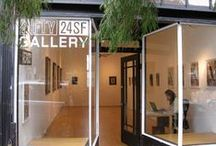 Upper Playground's FIFTY24SF Gallery / FIFTY24SF Gallery San Francisco, Lower Haight, San Francisco Located at Upper Playground World HQ / by Upper Playground