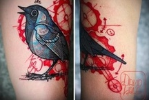 Tattoos / One of my passions that just won't quit. I love tattoos! / by Amy Cerney