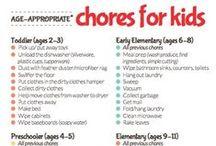 Chore Ideas / Organize your chores using DoughMain's online chore tracker.  / by DoughMain