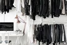 Closets / all things closet #closetdesign #closetideas #closets / by Haute and Rebellious