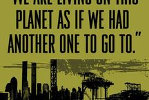 Love our planet / be aware / by Kate Andersen