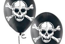 Skulls theme birthday party
