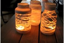 Candles and Vases / by Brooke Dammann