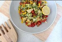 SIMPLE SALADS / Simple and delicious salad recipes, perfect for summer!