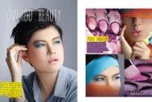 Beauty Spread / Cita Cinta magazine beauty spread