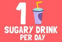 1 sugary drink per day is equal to… / < ------------------------- Take a look at the pins below to find out! ------------------------- > Sugar Lowdown will look its best if you resize your browser to show 4 columns of pins.