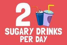 2 sugary drinks per day are equal to… / < ------------------------- Take a look at the pins below to find out! ------------------------- > Sugar Lowdown will look its best if you resize your browser to show 4 columns of pins.