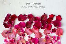 DIY Natural Beauty Products / DIY Natural and Organic Beauty Recipes
