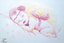 My illustrations / www.lisa-crea.fr - Instagram : lisacrea13 My book, my ideas, my illustrations