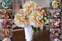 Wedding Decorating Elegance / Wedding Decorating Ideas - Wedding Wreaths - Bridal Shower Decor - Wedding Centerpieces