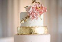 Cakes for the Wedding / wedding & groom cake.